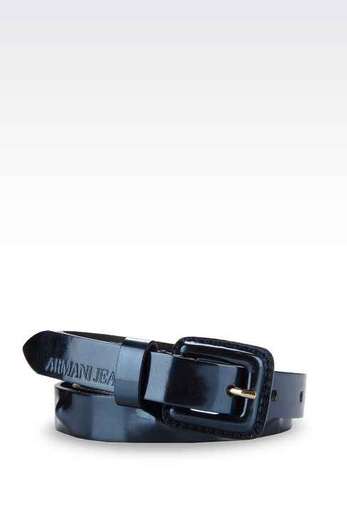 Belts: Leather belts Women by Armani - 1