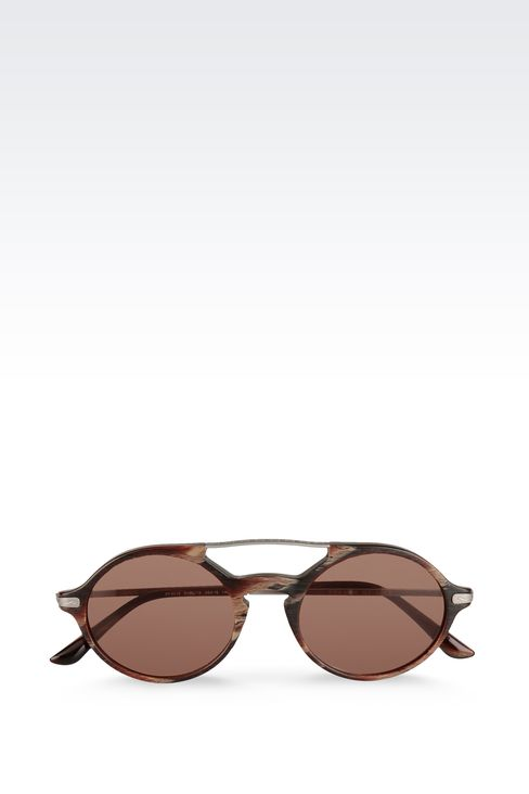 SUNGLASSES FROM THE GIORGIO ARMANI FRAMES OF LIFE COLLECTION: Sunglasses Men by Armani - 1