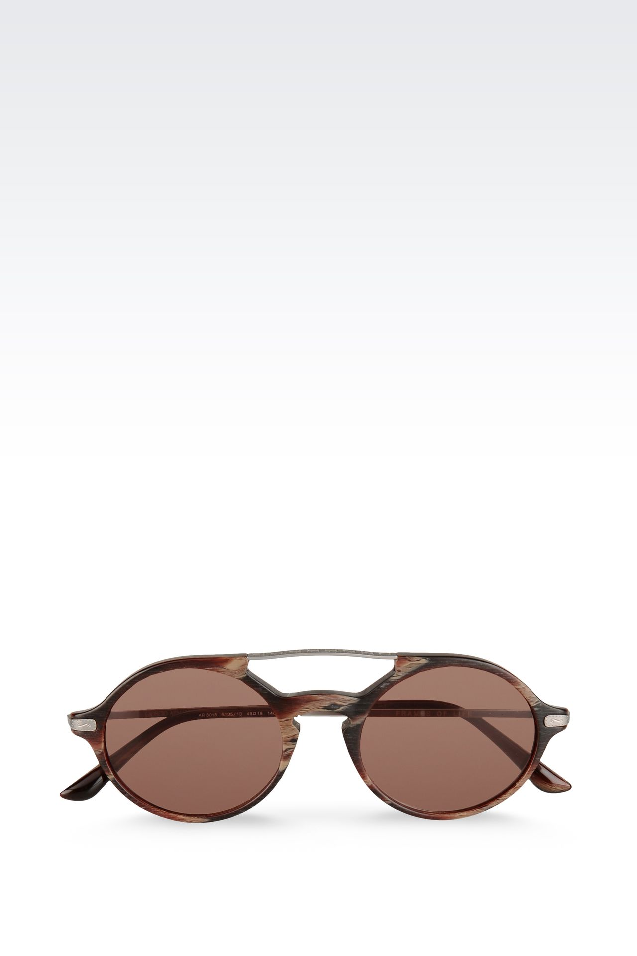 SUNGLASSES FROM THE GIORGIO ARMANI FRAMES OF LIFE COLLECTION: Sunglasses Men by Armani - 0