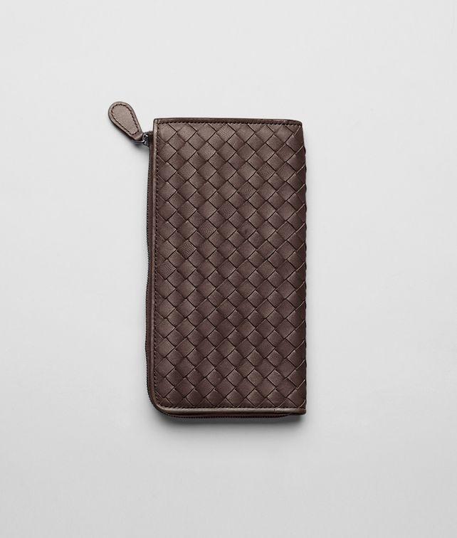 Ebano Intrecciato Nappa Zip Wallet