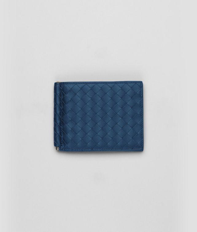 Portemonnaie aus VN-Leder Intrecciato Électrique