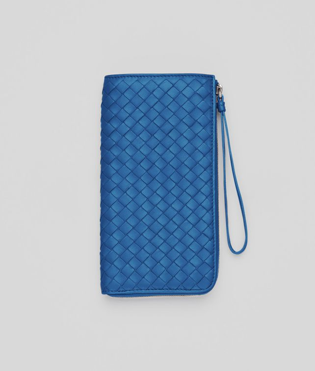BOTTEGA VENETA Électrique Intrecciato Nappa Zip Wallet Zip Around Wallet D fp