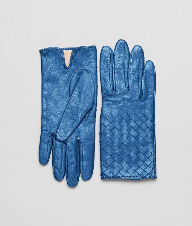 Électrique Intrecciato Nappa Gloves