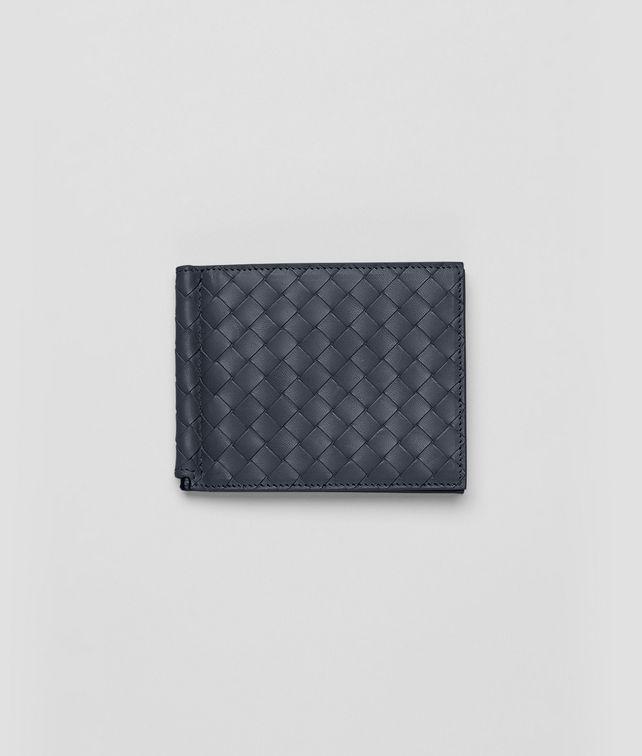 Portemonnaie aus Vachetteleder Intrecciato Prusse