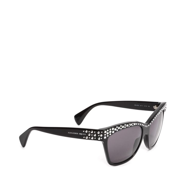 Alexander McQueen, Studded Brow Sunglasses