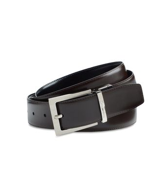 ERMENEGILDO ZEGNA: Belt Dark brown - 46325695WT