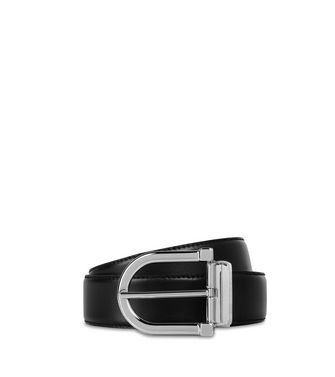 ERMENEGILDO ZEGNA: Belt Black - Dark brown - 46325697WE