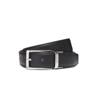ERMENEGILDO ZEGNA: Belt Dark brown - 46325698KX