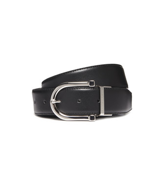 ERMENEGILDO ZEGNA: Belt Black - Dark brown - 46325699XD