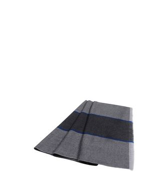 ERMENEGILDO ZEGNA: Scarf Black - Maroon - Blue - Dark green - 46325733BB