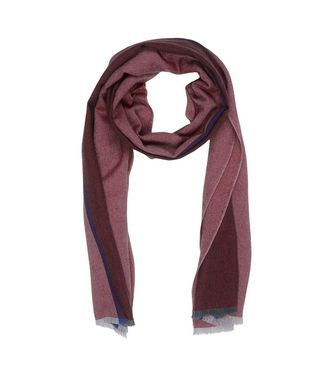 ERMENEGILDO ZEGNA: Scarf Blue - Dark brown - 46325735MN