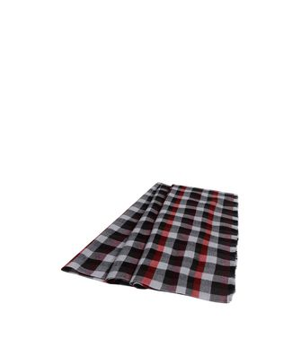 ERMENEGILDO ZEGNA: Scarf Black - Maroon - Blue - Dark green - 46325746RV