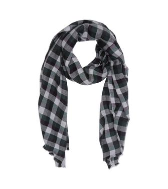 ERMENEGILDO ZEGNA: Scarf Blue - Light grey - 46325747TP