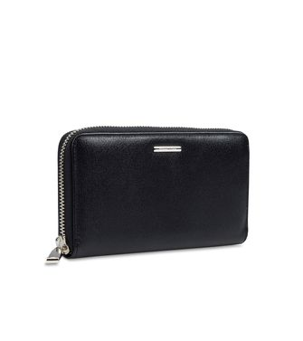 ERMENEGILDO ZEGNA: Wallet Blue - Grey - 46325760AN