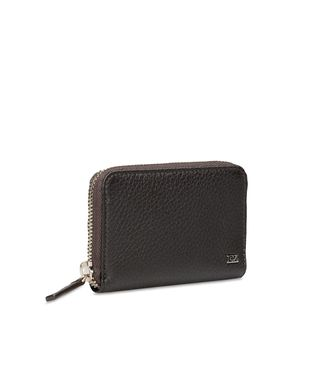 ERMENEGILDO ZEGNA: Wallets Black - Blue - 46325769VA