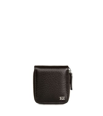 ERMENEGILDO ZEGNA: Small Leather Goods Dark brown - 46325774VI
