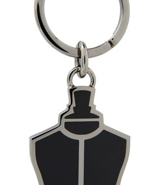 ERMENEGILDO ZEGNA: Key ring Black - 46325775JR