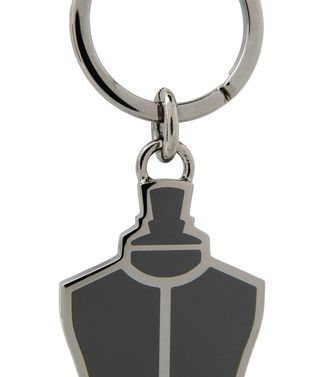 ERMENEGILDO ZEGNA: Key ring Steel grey - 46325776NM