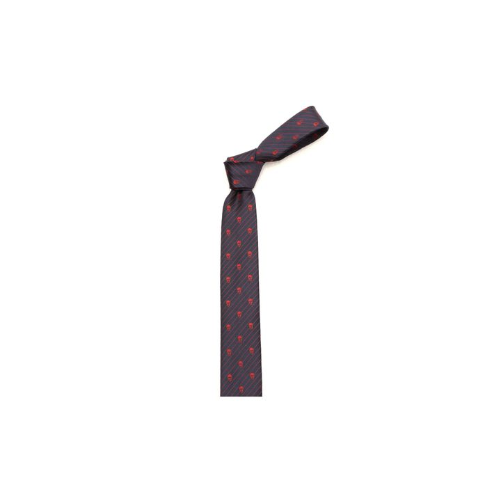 Alexander McQueen, Pinstriped Skull Tie