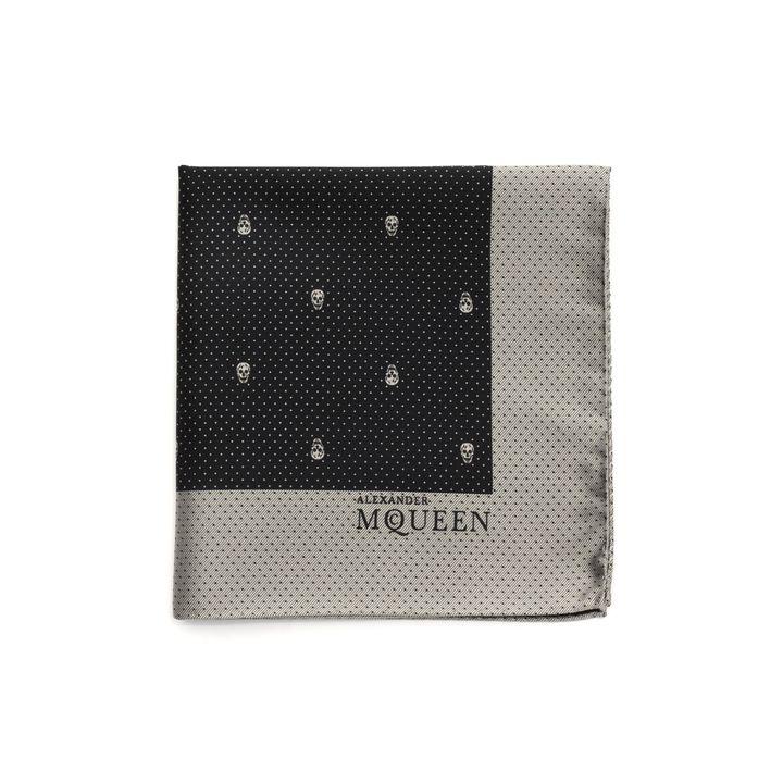Alexander McQueen, Skull Polka Dot Handkerchief
