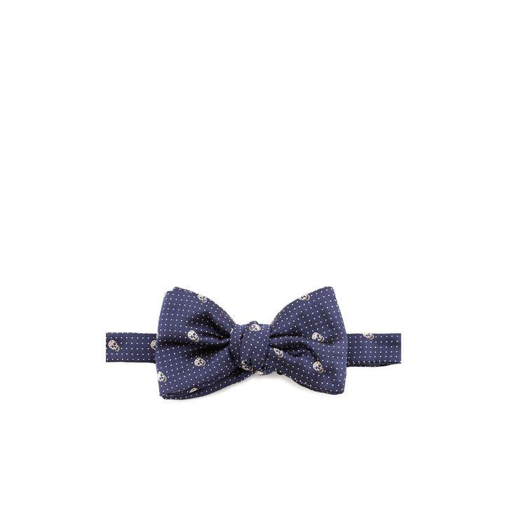 Alexander McQueen, Skull Polka Dot Bow Tie