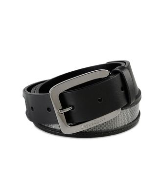 ZEGNA SPORT: Belt Black - 46326455HO