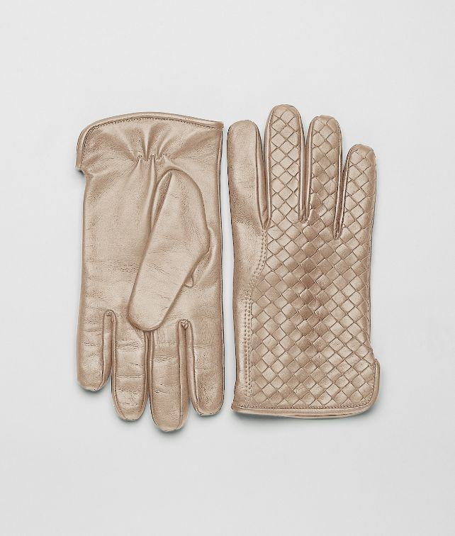 BOTTEGA VENETA Walnut Intrecciato Nappa Gloves Scarf or Hat or Glove U fp