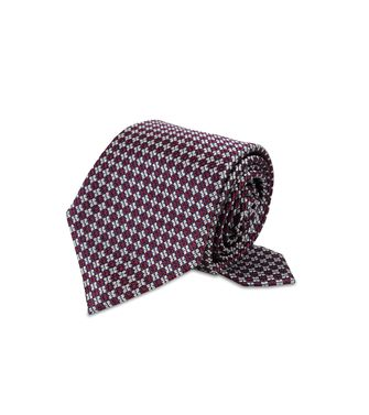 ERMENEGILDO ZEGNA: Cravate Bordeaux - 46326560OK