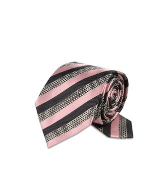 ERMENEGILDO ZEGNA: Cravate Rose - 46326568JB