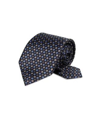 ERMENEGILDO ZEGNA: Cravate Bleu - 46326569VE