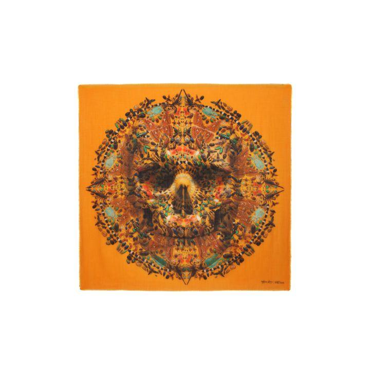 Alexander McQueen, Tityus Big Skull Scarf