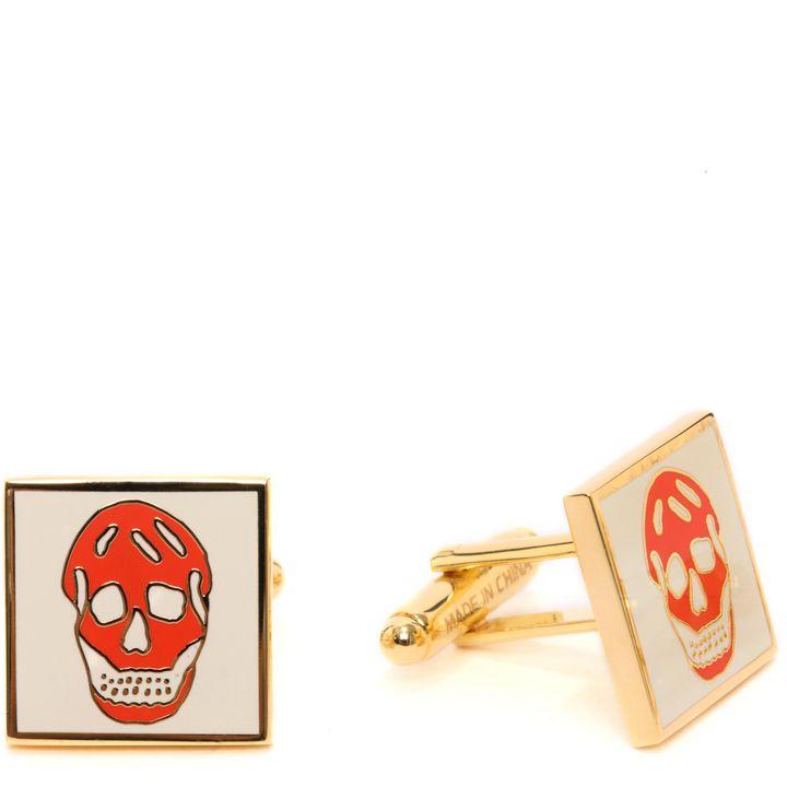 Alexander McQueen, Square Skull Cufflinks