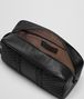 BOTTEGA VENETA BEAUTY CASE IN NERO INTRECCIO IMPERATORE Small bag U ap