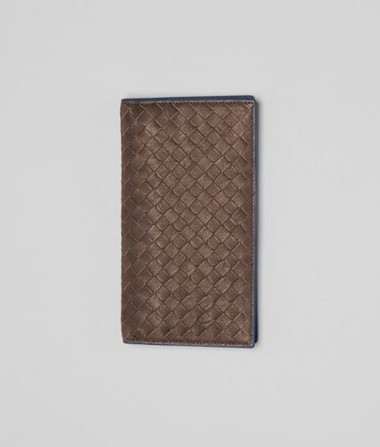 BOTTEGA VENETA - Edoardo Électrique Intrecciato Washed Vintage Continental Wallet