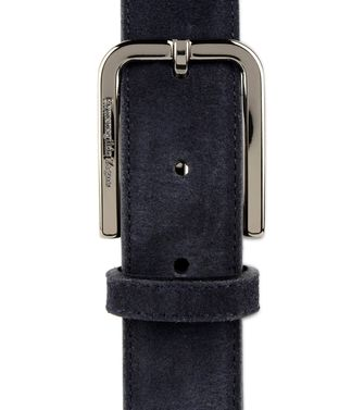 ERMENEGILDO ZEGNA: Belt Blue - 46327188VW