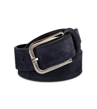 ERMENEGILDO ZEGNA: Belt Black - 46327188VW