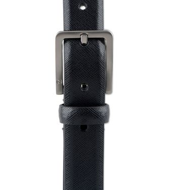 ZZEGNA: Belt Black - 46327195GD