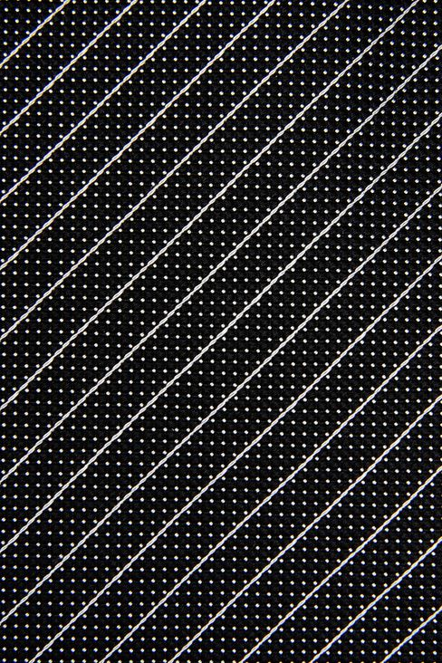 STRIPED SILK TIE: Ties Men by Armani - 3
