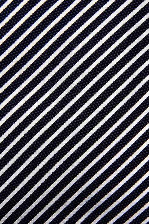 BI-COLOR STRIPED SILK TIE: Ties Men by Armani - 3