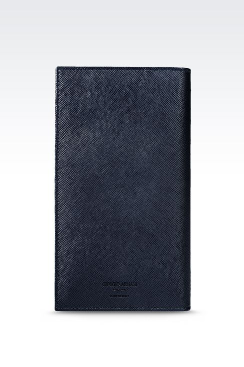 YEN LEATHER WALLET : Wallets Men by Armani - 1
