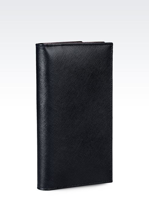 YEN LEATHER WALLET : Wallets Men by Armani - 2