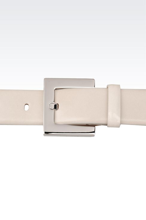 Belts: Leather belts Women by Armani - 3