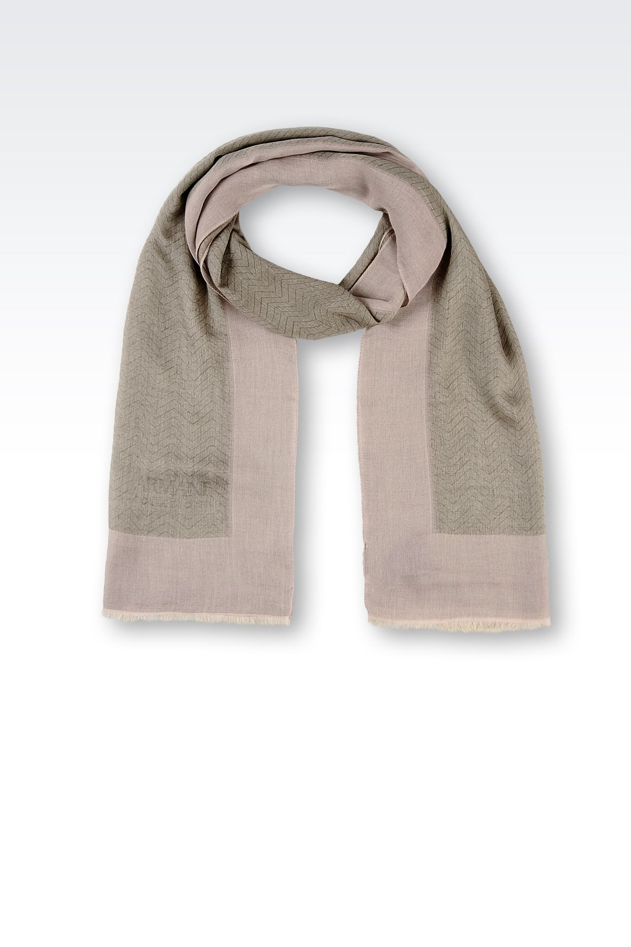 COTTON MODAL STOLE: Stoles Women by Armani - 0