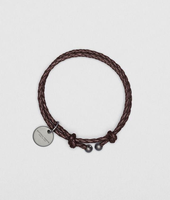 Ebano Intrecciato Nappa Bracelet