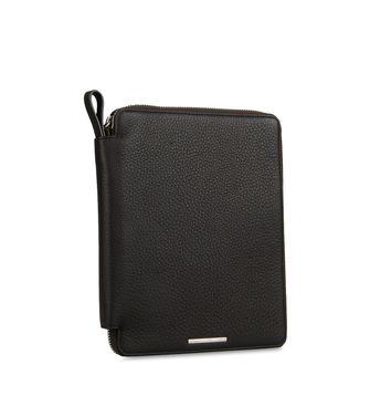 ERMENEGILDO ZEGNA: iPad Organizer Dark brown - 46328373NN