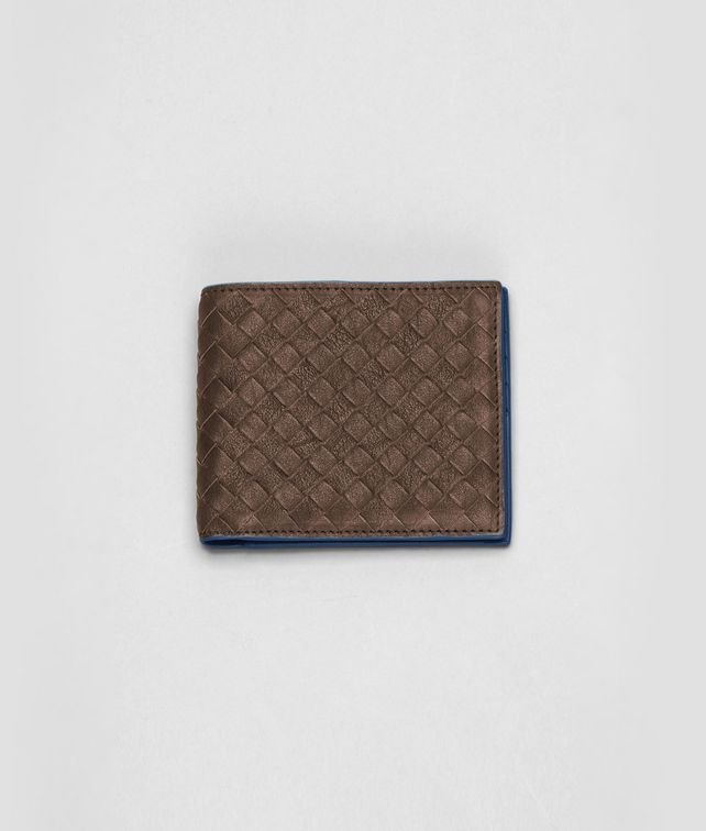 Edoardo Électrique Intrecciato Washed Vintage Wallet