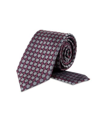 ZZEGNA: Tie Deep purple - 46328908DH