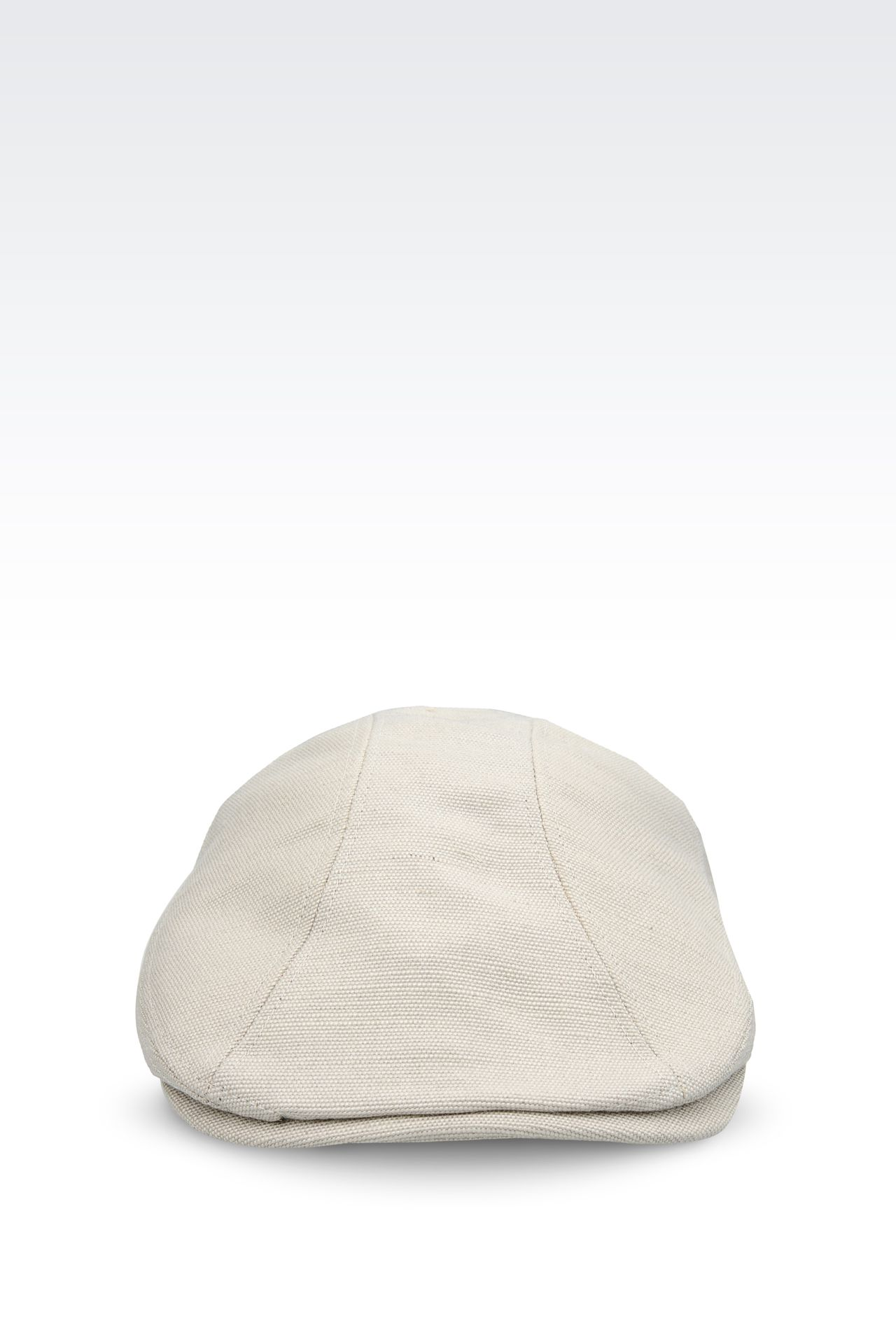 COPPOLA CAP IN JUTE AND VISCOSE: Hats Men by Armani - 0