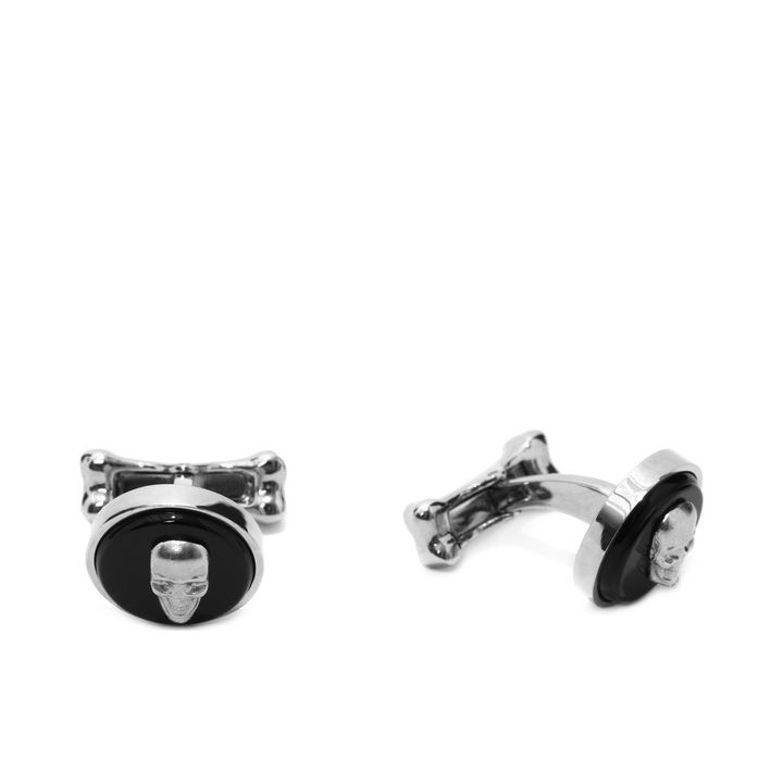Alexander McQueen, Boutons de manchette avec pierre Skull