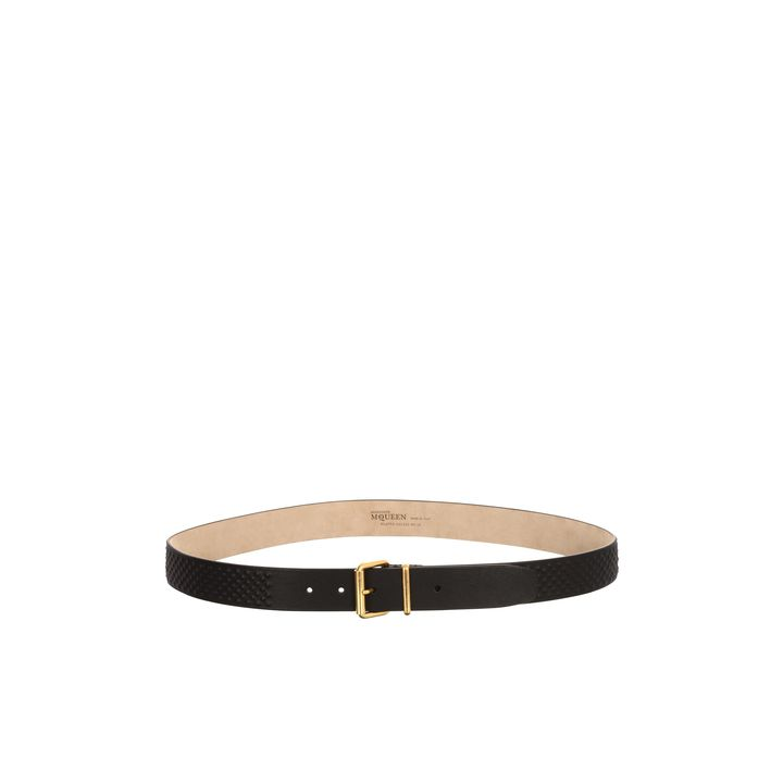 Alexander McQueen, Leather Covered Studded Belt
